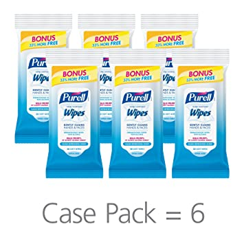 Amazon Com Purell Hand Sanitizing Wipes Clean Refreshing Scent