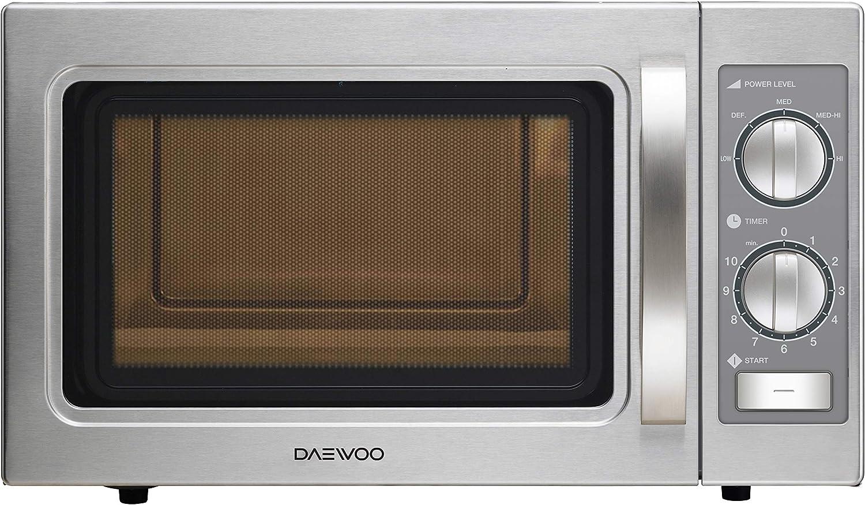 Daewoo KOM-9P35B Microondas profesional, 29 litros, manual ...