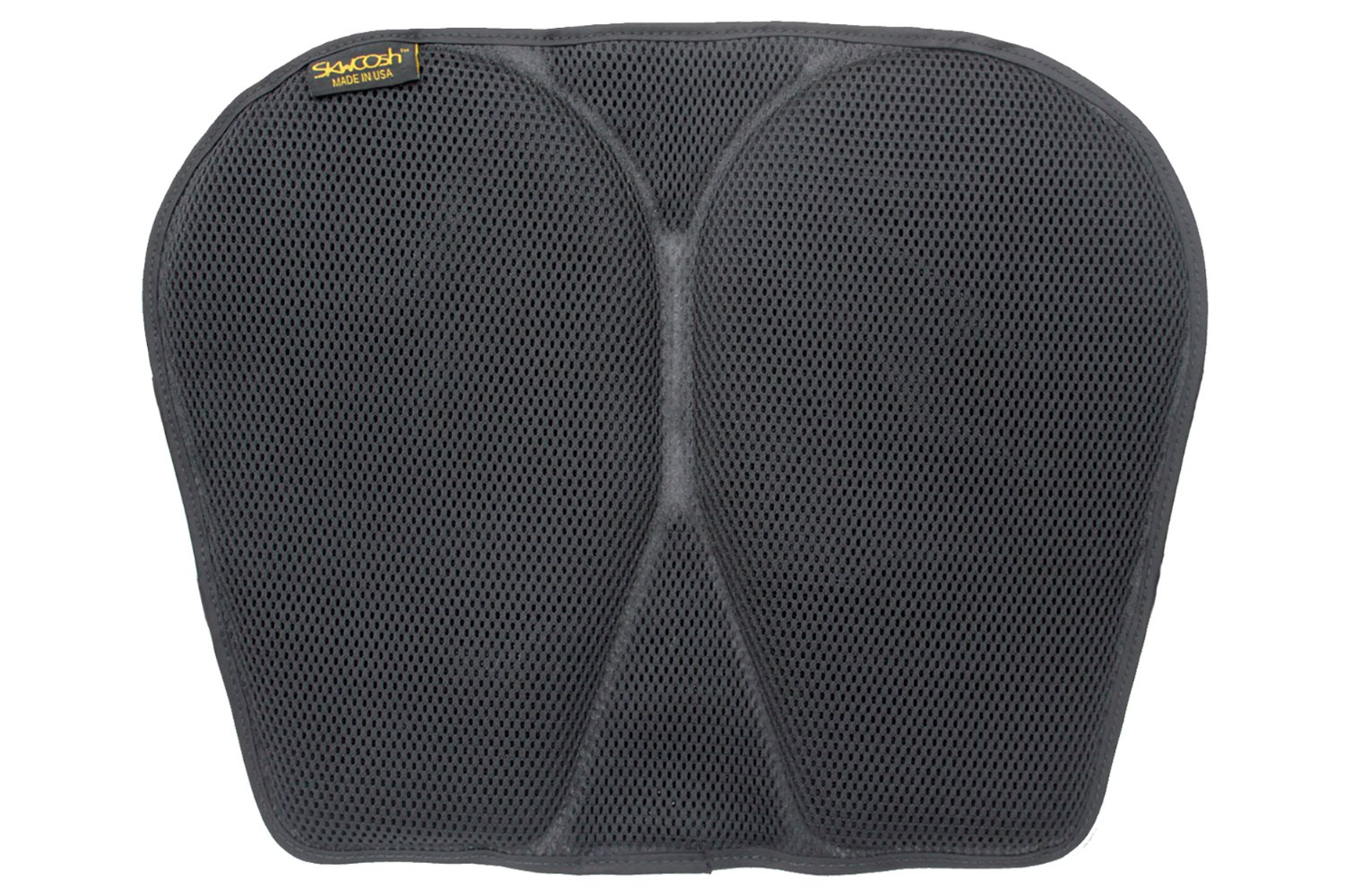 SKWOOSH Classic Kayak Paddling Gel Seat Pad with AirFlo Breathable and Cushioning Mesh | Made in USA