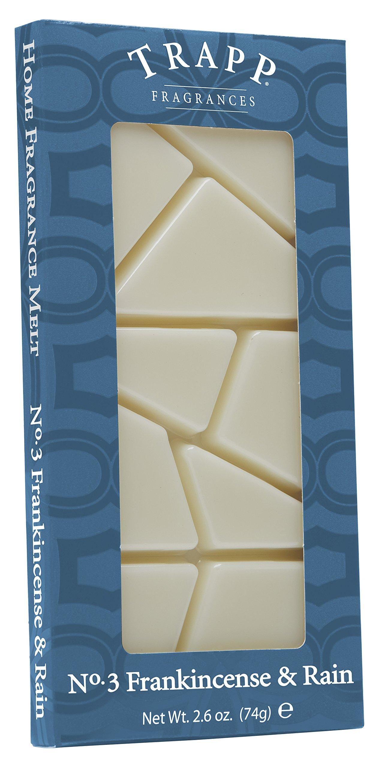 Trapp Home Fragrance Melt, No. 3 Frankincense & Rain, 2.6-Ounce