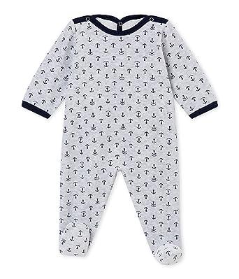 3c37d067faa6e Pyjama velours bébé garçon PETIT BATEAU pas cher à prix Auchan. Petit ...