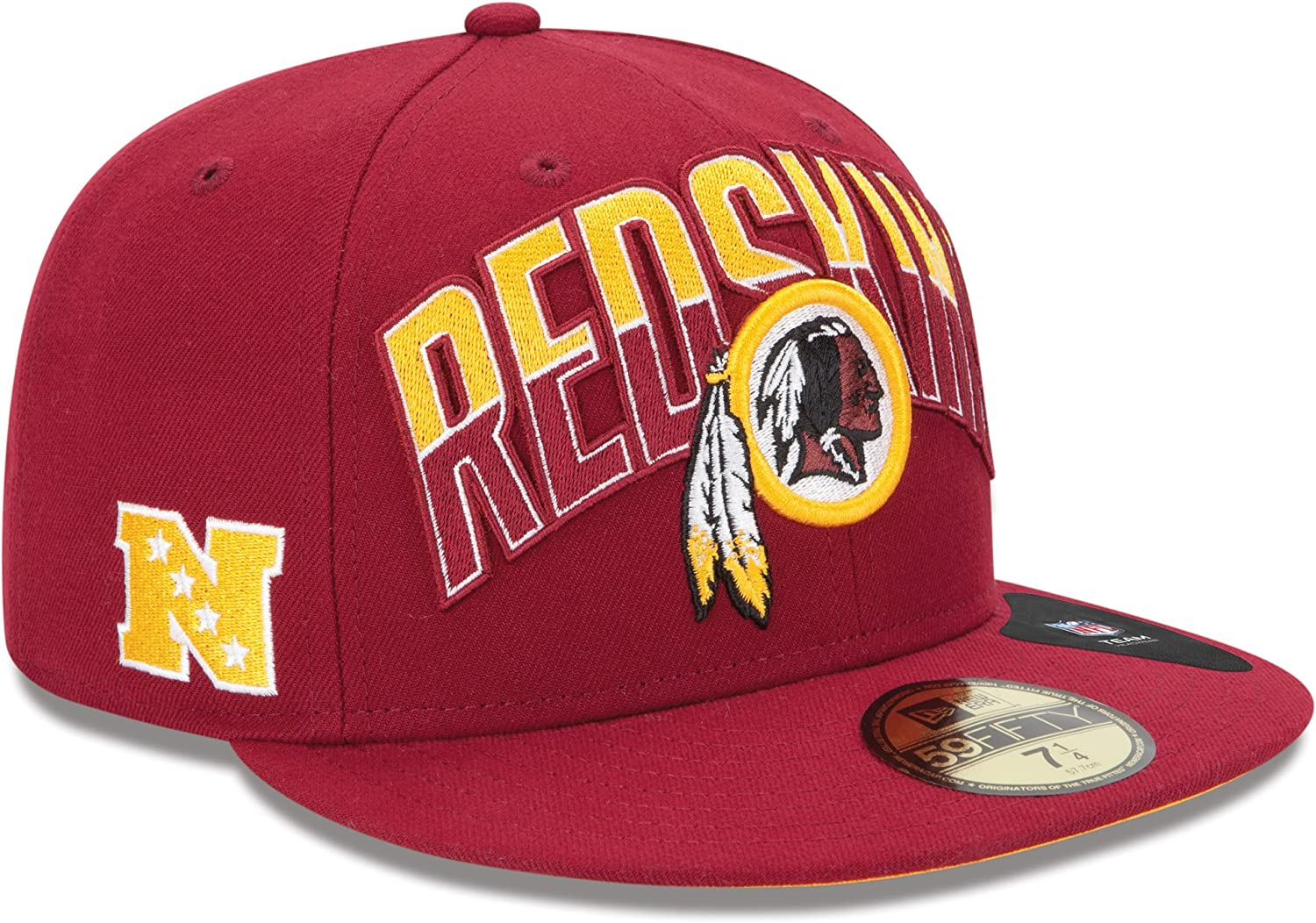 NFL Washington Redskins Kids 2013 Draft 59FIFTY Fitted Cap