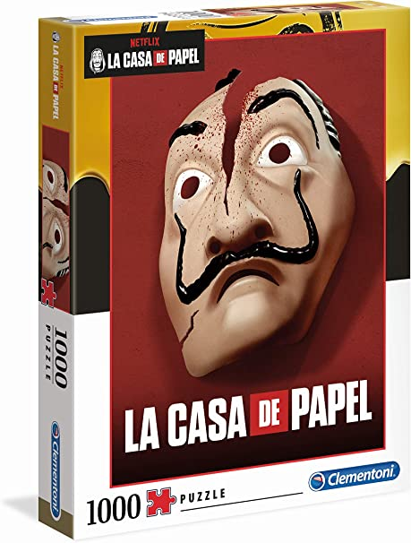 Clementoni- Puzzle 1000 Piezas La Casa de Papel (39533.0): Amazon.es: Juguetes y juegos