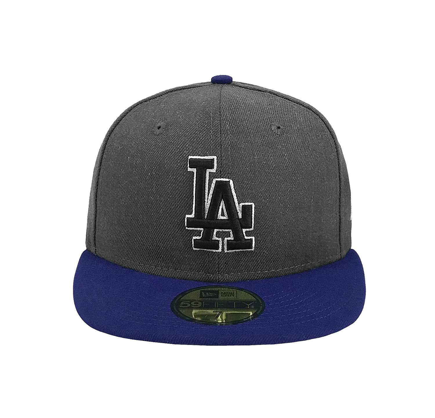 wholesale dealer 12835 b3ca4 New Era 59Fifty Hat MLB Los Angeles Dodgers Shader Melt 2 Charcoal Royal  Blue Cap at Amazon Men s Clothing store