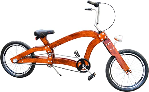 Hecho a mano de madera para bicicleta bajo Rider Cruiser ...