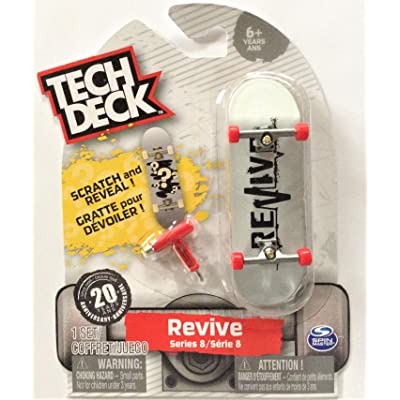 TECH DECK Revive Series 8 Scratch and Reveal Mystery Fingerboard Ultra Rare #20094635: Toys & Games