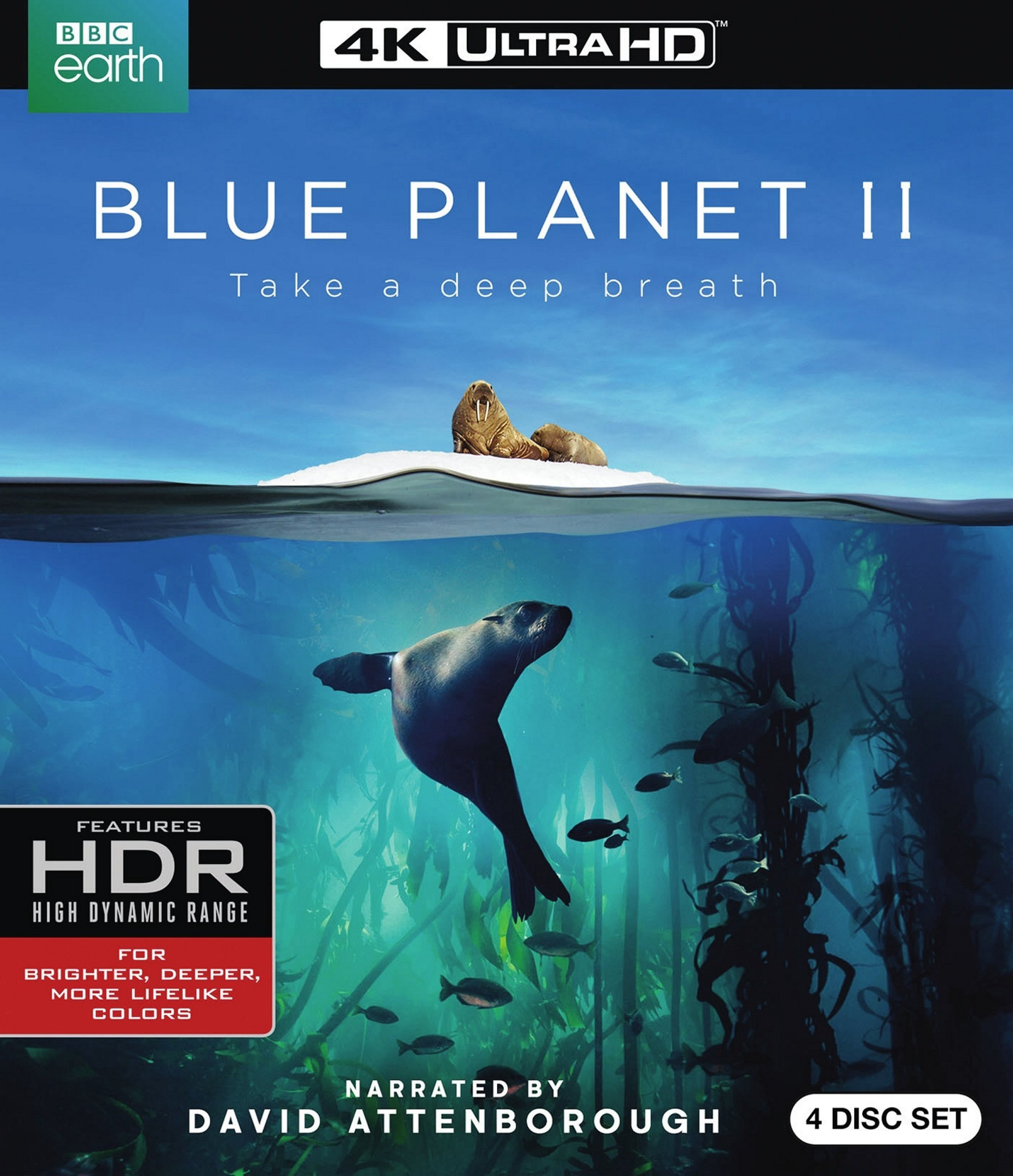 4K Blu-ray : Blue Planet II (With Blu-Ray, 4K Mastering, Digital Copy, 2 Disc)