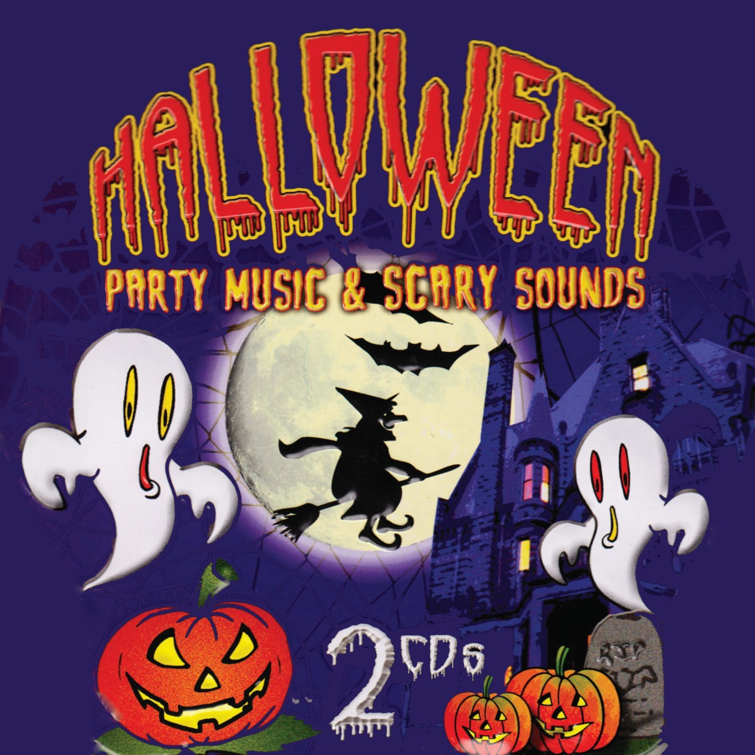 Halloween Party Music & Scary Sounds [2 CD] by AAO Music