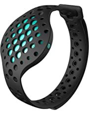 Moov Now - Aqua Blue - 3D Fitness Tracker & Real Time Audio Coach - [New] Run Walk Swim Cycle Workout Cardio Boxing