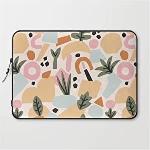 "Laptop Sleeve - Laptop Sleeve - 15"" - Malibu Sunrise by Tania Garcaa"