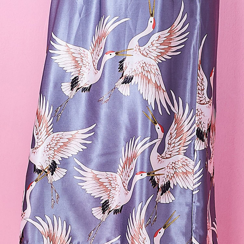 Kimono De Verano De Las Mujeres De Sexy Vestido Camisón Con De Las ...