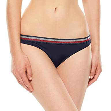 e456f5df06 Tommy Hilfiger Bikini Brief Small Navy Blazer at Amazon Women s Clothing  store