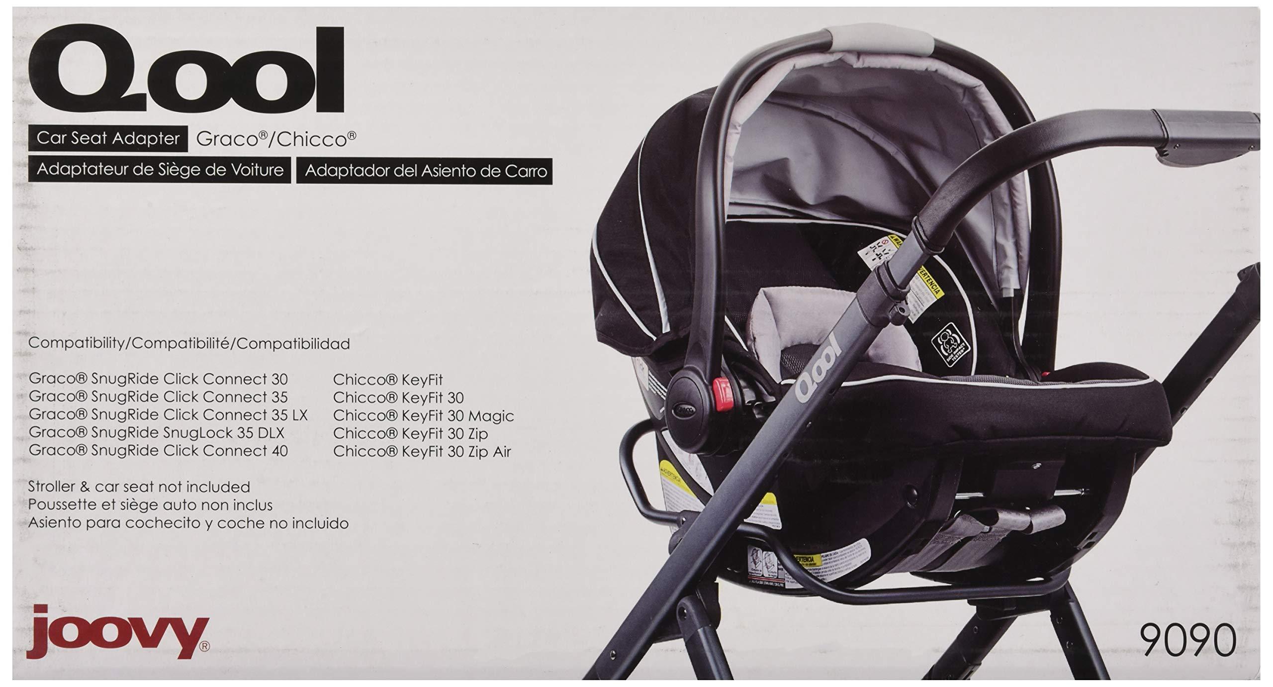 JOOVY Qool Car Seat Adapter, Graco/Chicco by Joovy (Image #6)