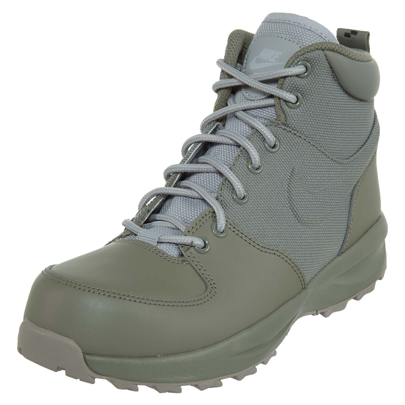 reputable site 72c51 bed6d Galleon - NIKE Boy s Manoa 17 (GS) Boot, Dark Stucco Wolf Grey-Cobblestone  5.5Y