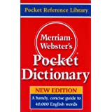 Merriam-Webster's Pocket Dictionary, Newest Edition