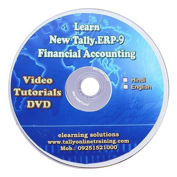 Practice guru tally erp 9 financial accounting video tutorial cd.