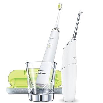 Philips Sonicare AirFloss Ultra Limpiador interdental HX8491/01 - Cepillo de dientes eléctrico (Batería