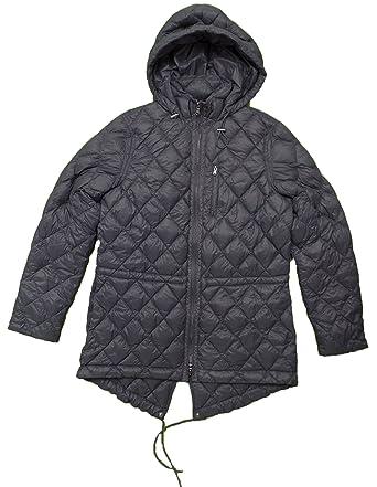 RALPH LAUREN Lauren Women s Quilted Down Puffer Jacket (Steel Grey ... f6c6cb5d65