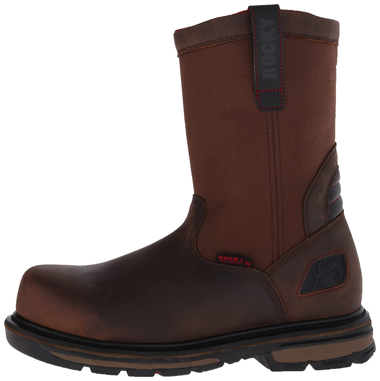 e79d405bdac Rocky Men's 10 Inch Hauler Composite Toe Work Boot