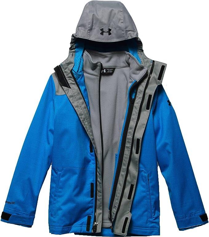 Under Armour Outdoors Boys ColdGear Reactor Wayside 3-in-1 Jacket