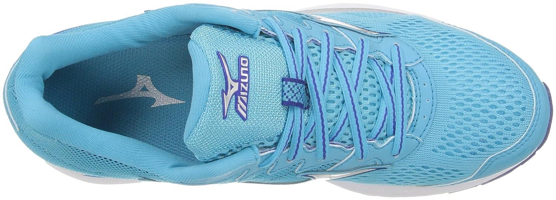 Mizuno B01H3EDE80 Women's Wave Rider 20 Running Shoe B01H3EDE80 Mizuno 7.5 D US|Blue Atoll/Silver e1de66
