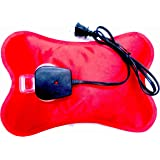 Happy Heat Electric Hot Water Bottle Rechargeable Heating Pad, Portable Hot Water Bag for Cramps, Zippered Soft Fleece…