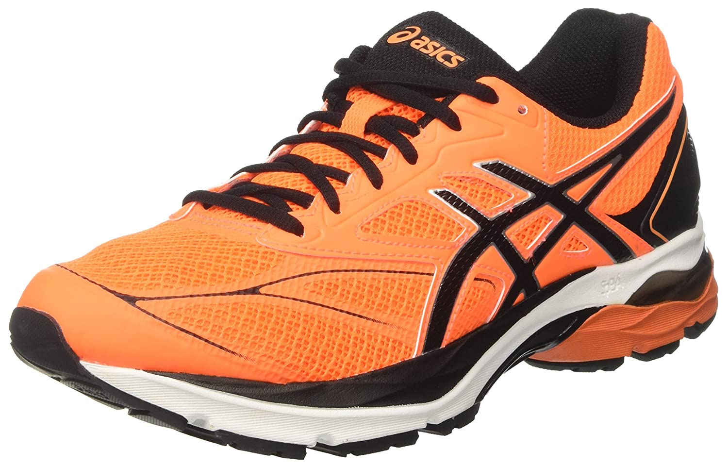 new arrival 80104 4ae59 ASICS Gel-Pulse 8, Chaussures de Running Homme 40 Orange Black White)  EU Orange (Rose Shocking Orange Black White) 40 2d1b9c