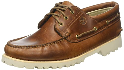 Timberland Chilmark 3 Eye Handsewn, Náuticos para Hombre, Marrón (Medium Brown Full Grain P01), 50 EU: Amazon.es: Zapatos y complementos