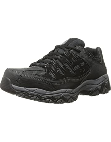 a215fd3265a2 Skechers for Work 77055 Cankton Athletic Steel Toe work sneaker