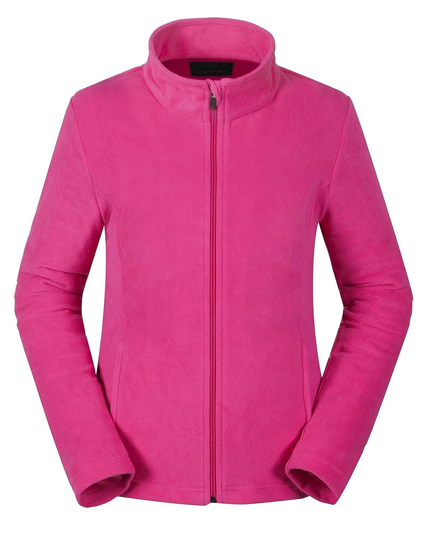 aparso Damen Fleecejacke Fleece Pullover Fleeceshirt atmungsaktiv warm