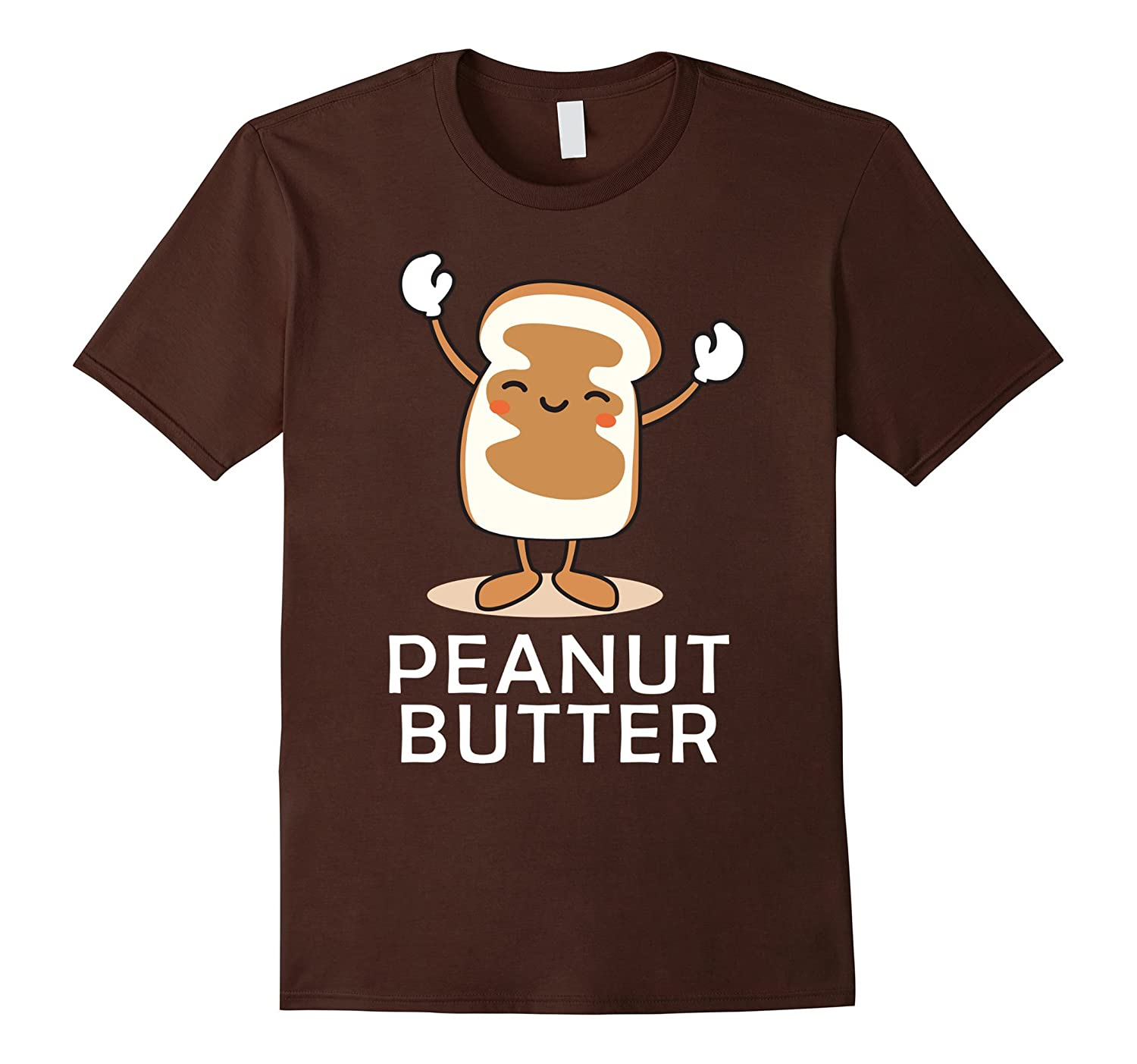 Peanut Butter Halloween Couples Bff tee Easy Costume Jelly-FL