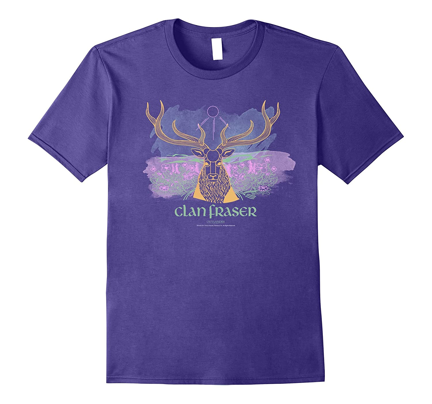 Outlander Clan Fraser Elk in Field-ANZ