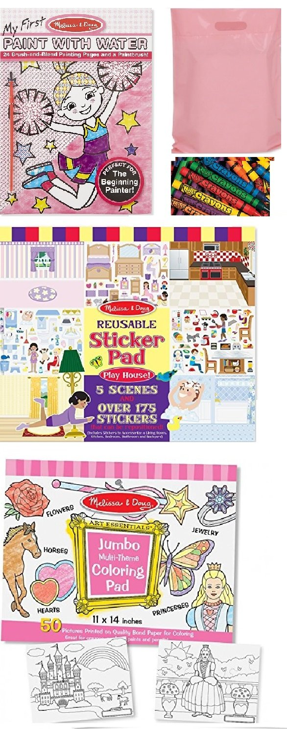 70%OFF Melissa & Doug My First Paint with Water, Jumbo Multi-Theme ...