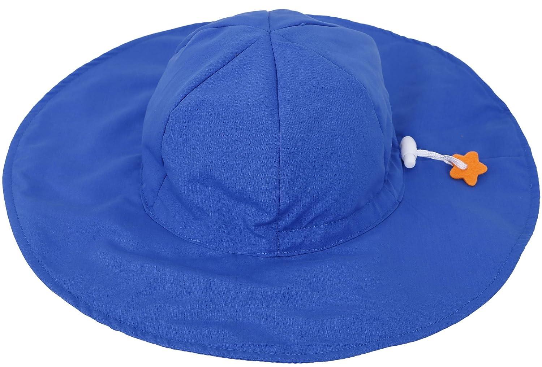 c06669222b66 SimpliKids UPF 50+ UV Ray Sun Protection Wide Brim Baby Sun Hat