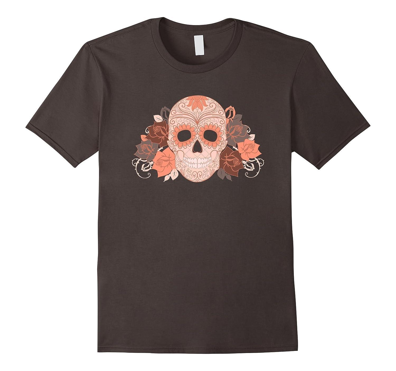 Sugar Skull Halloween Dios de la Muerte Calavera T-shirt-T-Shirt