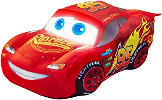 Disney 257CAA01EM Cars Lightning McQueen Plush Pal Night Light Soft Toy by Go Glow