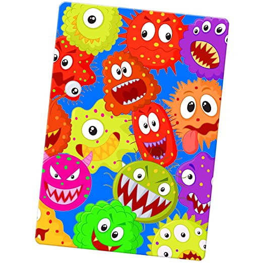Funny Monsters imán para nevera, Cartoon Bacteria Monsters, Large ...