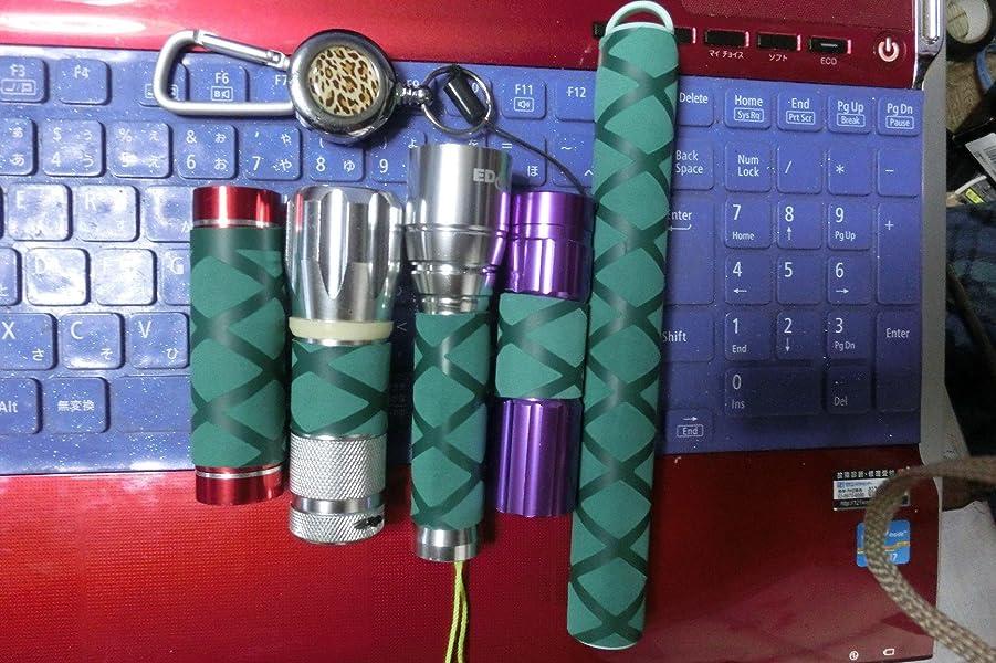 ラバーグリップ-熱収縮チューブ-フィッシュ-ハンドル対応-(ブラック