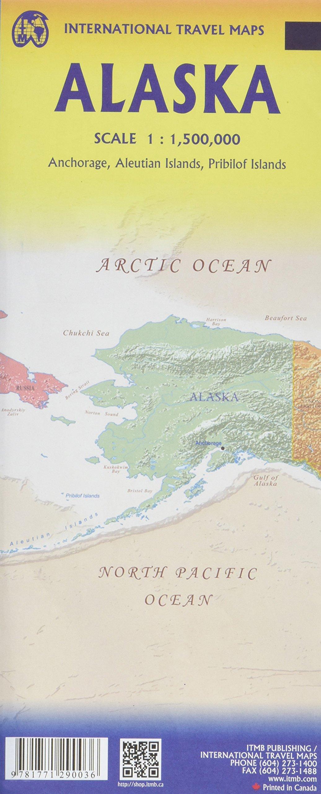 Alaska 1 : 1 500 000: International Travel Maps: Amazon.de ...