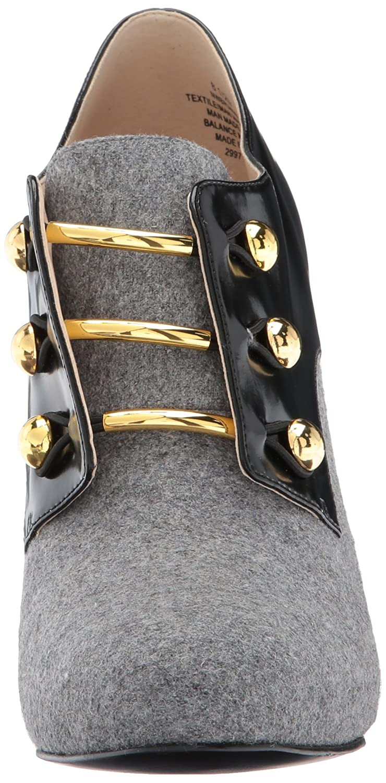 Nine West Women's Brianny Fabric Fashion Boot B06XXQZ3GQ 7 B(M) US|Light Grey/Black