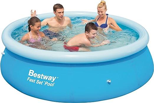 Bestway M22750 - Piscina redonda 244cmx66cm: Amazon.es: Deportes y aire libre