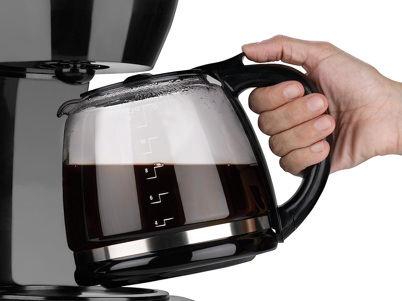 BLACK+DECKER 12-Cup Programmable Coffee Maker, Black