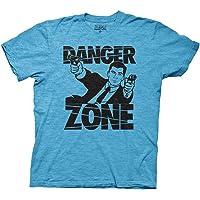 Ripple Junction Archer Danger Zone Adult Sized Soft Blue T-Shirt