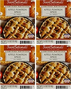 ScentSationals Apple Pumpkin Spice Wax Cubes - 4-Pack