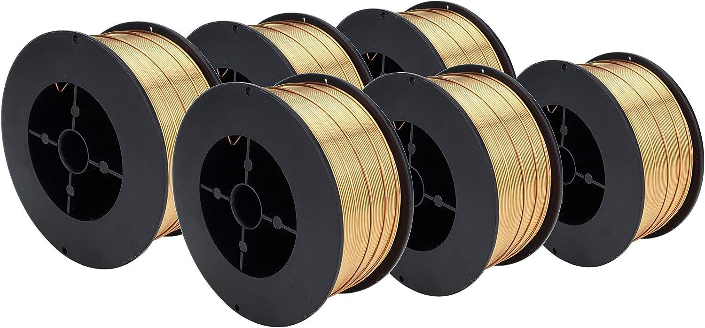 SPOOL ERCuSi-A Silicon Bronze MIG Wire 2 Lb x 0.023 S/ÜA
