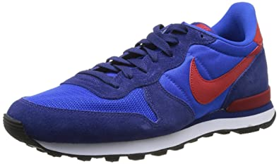 new product 4b871 b9f51 Nike Internationalist, Mens Running Shoes, Multicolour (Hyper Cobalt Gym  Red Deep