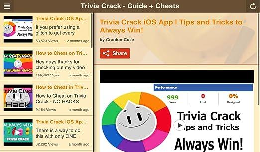 GUIDE: Trivia Crack (Guide, Cheats, Walkthrough, Tips & Tricks)