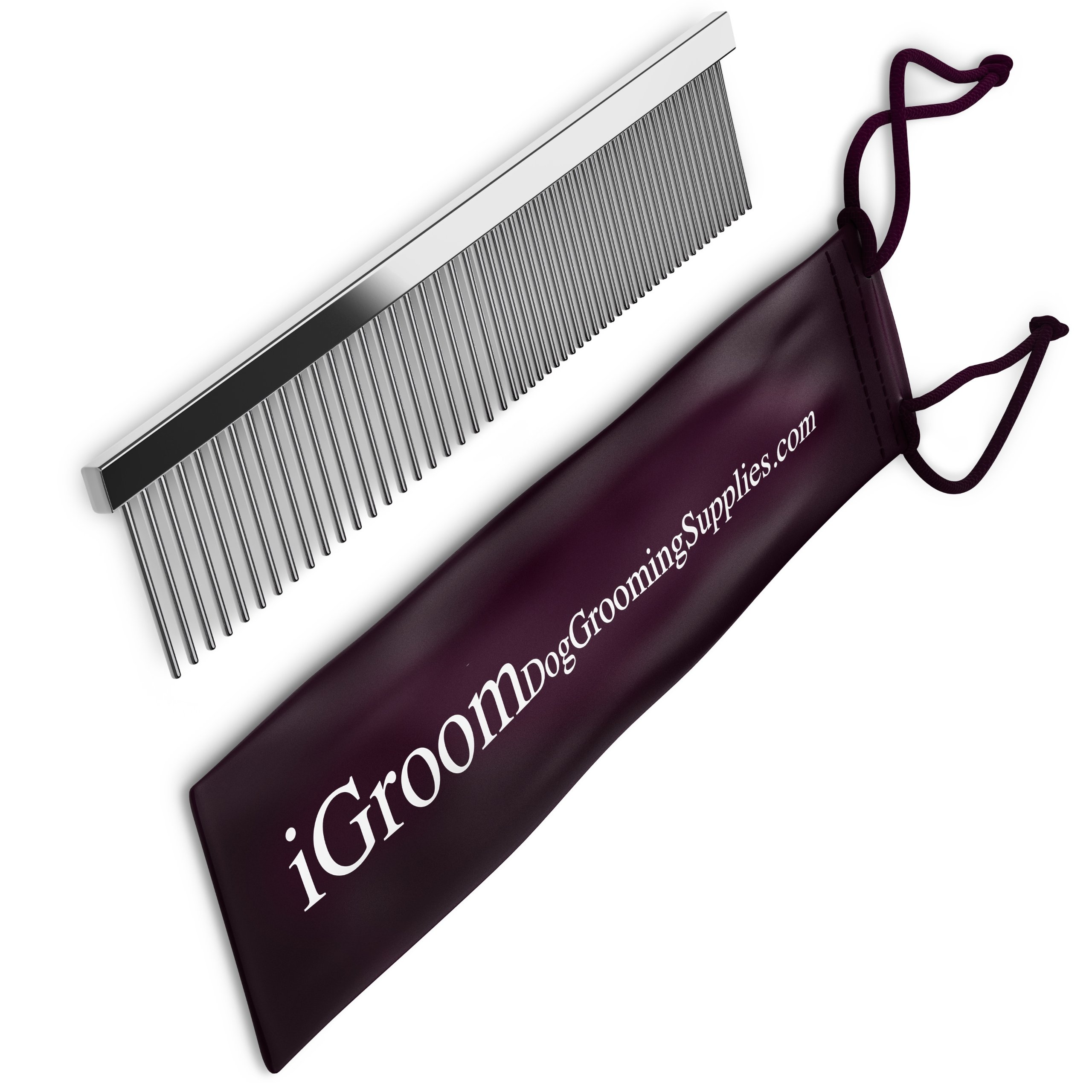 On Sale - Durable Steel Dog Grooming Comb And Shedding Tool,, Pet Supplies Free 65-page Guide