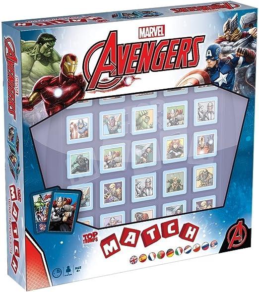 Top Trumps Match Avengers- Juego de tarjetas, multilingual: Amazon.es: Juguetes y juegos