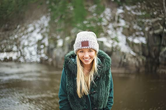 Love Your Melon Black Speckled Cuffed Beanie at Amazon Women s Clothing  store  df13b0eb768